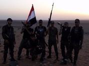Chiến đấu cơ Mỹ lại không kích quân tình nguyện Syria