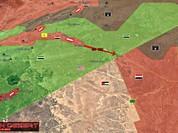 Quân Assad đồng loạt tấn công tam giác biên giới Iraq, Jordan, Syria