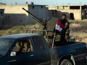 Quân đội Syria bắn hạ 7 UAV Mỹ ở Sweida (video)