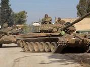 Phiến quân Syria cố thủ ngoại vi Damascus hứng hỏa lực dữ dội (chùm video)
