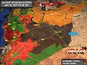 Quân đội Syria giằng co với phiến quân trên sa mạc Homs