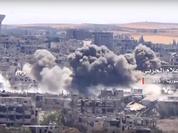 Quân đội Syria tiêu diệt hàng loạt tay súng thánh chiến ở Daraa (video)