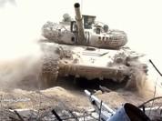 Quân đội Syria ác chiến phiến quân thánh chiến cố thủ ngoại vi Damascus (video)