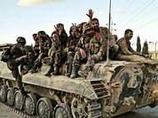Vệ binh Syria tấn công phiến quân thánh chiến ở ngoại vi Damascus