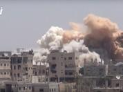 Quân đội Syria tập kích ác liệt phe thánh chiến cố thủ Daraa (video)