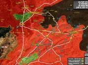 Chiến sự Syria: Quân Assad ồ ạt tiến đánh cứ địa IS và sân bay Homs