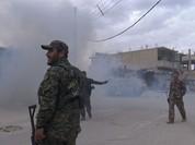 """Chiến sự Syria: SDF tấn chiếm 4 quận ngoại ô """"thủ đô"""" IS (video)"""