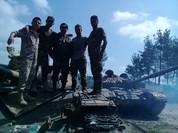Không quân Nga ghìm đầu, quân đội Syria đè bẹp IS chiếm thị trấn chiến lược