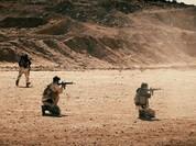 Chiến sự Syria: Đặc nhiệm Mỹ huấn luyện chiến đấu, tuần tra cùng phiến quân (video)