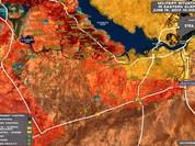 """""""Hổ Syria"""" đè bẹp IS chiếm thị trấn chiến lược ở Raqqa, phá kế hiểm Mỹ"""