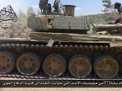 Quân đội Syria bất ngờ bại trận, T-72 Nga bị bắt sống tại Daraa