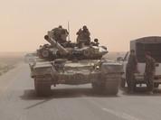 """""""Hổ Syria"""" truy diệt phiến quân IS trên chiến trường Hama (video)"""
