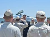 Tổng thống Syria cưỡi chiến đấu cơ Su-35 Nga (ảnh - video)