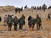 Nga yểm trợ, quân đội Syria tấn công IS trên sa mạc Homs (video)