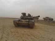 """T-90 Nga cùng """"Diều hâu sa mạc"""" Syria xung trận đánh IS (video)"""