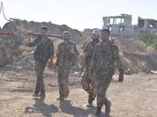 Quân đội Syria trút bão lửa vào phiến quân trên cao nguyên Golan (video)