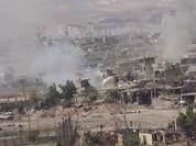 Quân đội Syria tiếp tục tấn công dữ dội phiến quân ngoại vi Damascus (video)