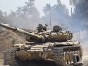 Quân đội Syria tung chiến dịch hạ pháo đài thánh chiến tại Damascus (chùm video)