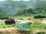 Hải quân đánh bộ Việt Nam diễn tập bắn đạn thật (video)