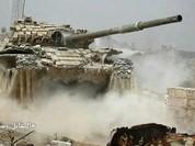 Quân đội Syria đánh phá chiến tuyến phiến quân ngoại ô Damascus