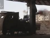 Quân đội Syria trút hỏa lực, phiến quân nã pháo hạng nặng đáp trả