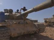Quân đội Syria tấn công IS tại Palmyra lên truyền hình Anh (video)