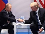 """Ông Trump nói """"rất gay gắt"""" với tổng thống Putin ở Hamburg (video)"""