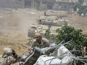 Video chiến sự Syria: Quân Assad tấn công dữ dội, phong tỏa phiến quân ven Damacus