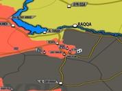 """""""Hổ Syria"""" đè bẹp phiến quân IS, chiếm hàng chục giếng dầu"""