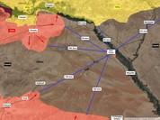 Quân đội Syria giao chiến ác liệt với IS trên sa mạc Homs (chùm video)