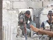 Quân đội Syria tấn công dữ dội thị trấn phiến quân ven Damascus