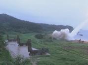 Mỹ - Hàn phóng tên lửa đạn đạo đáp trả Triều Tiên (video)