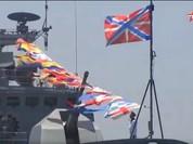 Hải quân Nga duyệt binh thị uy tại quân cảng Syria (video)