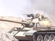 Trực thăng Nga càn quét, quân đội Syria tấn công cứ điểm IS tại Homs (video)