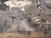 Quân đội Syria lại tung đòn tấn công phiến quân cố thủ ngoại vi Damascus (video)