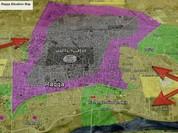 Chiến sự Syria:  2.000 phiến quân IS tử chiến tại Raqqa