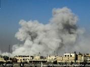 Quân đội Syria ồ ạt nã tên lửa hủy diệt phiến quân cố thủ ngoại vi Damascus