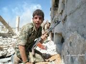Phiến quân nã tên lửa TOW Mỹ phá hủy pháo tự hành quân Assad (video)