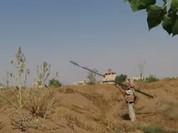 Tên lửa mới Verba Nga lại ra uy tại Syria (video)
