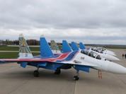 5 chiếc Su-30SM đã hạ cánh xuống Nội Bài, mai mới sang Malaysia