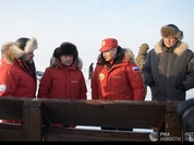 Chùm ảnh Tổng thống Putin thăm Bắc Cực
