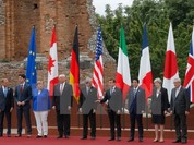 """Hội nghị thượng đỉnh G7 khai mạc, Taormina thành """"pháo đài thép"""""""