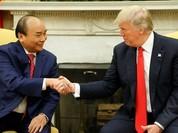 Thủ tướng Nguyễn Xuân Phúc hội đàm với Tổng thống Mỹ Donald Trump