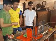 Sinh viên chế tạo thành công máy tự động cấp phôi theo đặt hàng...doanh nghiệp