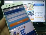 Mua sắm trực tuyến bằng smartphone tăng trưởng mạnh