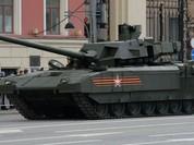 Quân Nga với siêu tăng Armata vượt trội Mỹ