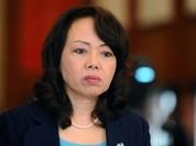 Bà Nguyễn Thị Kim Tiến tiếp tục làm Bộ trưởng Y tế