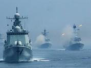 Trung Quốc tập trận huy động cả lực lượng ở Hoàng Sa, Trường Sa