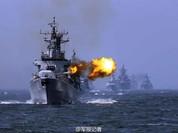 """Biển Đông: Trung Quốc, Nga """"diễu võ"""" quy mô lớn chưa từng thấy từ hôm nay"""