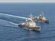 """Trung Quốc đe """"không khoanh tay"""" nếu Nhật Bản tuần tra Biển Đông"""